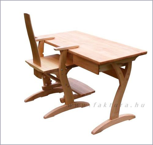 Gyerek íróasztal székkel