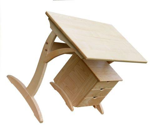 kőris íróasztal
