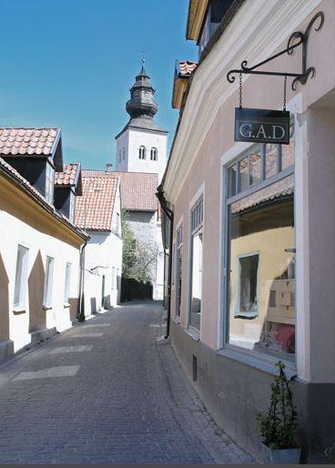 A G.A.D. bemutatóterme Visbyben