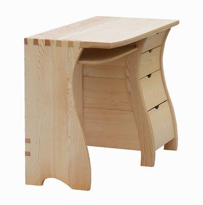 íróasztal, kőris