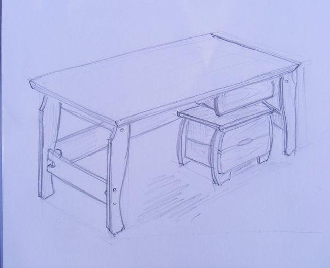 gyerek íróasztal terv