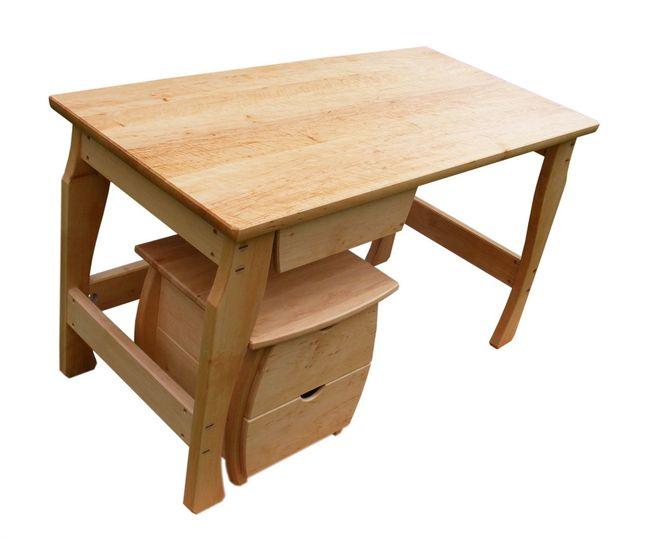 fa íróasztal