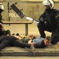 Lengyel rendőrök munkában