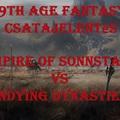 Csatajelentés - Empire of Sonnstahl vs Undying Dynasties