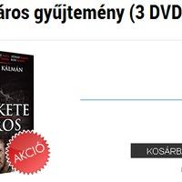 Fekete város DVD akció