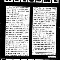 Vitamin fanzine #1. (1987)