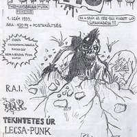 Punk No Die #1-2. (Zalaszentiván, 1998-1999.)