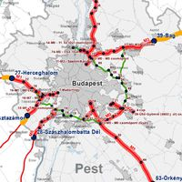 Újévi abszurd: fizetős lett az egyetlen út a budapesti reptérre
