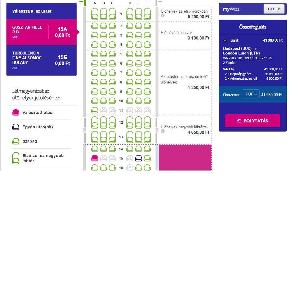 3e8a1812de22 Térkép: Ryanair ülőhely Térkép