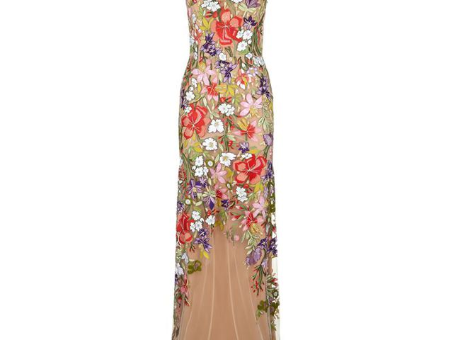 Jenny Packham Floral Embroidered Gown 7fec8bd698