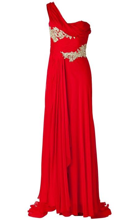piros estélyi ruha alkalmi ruha női divat Marchesa ed9809a706
