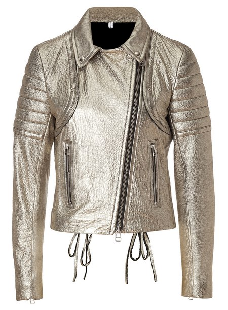 Aranyszínű bőrdzseki (Faith Connexion) - Fashion 0a1a239284