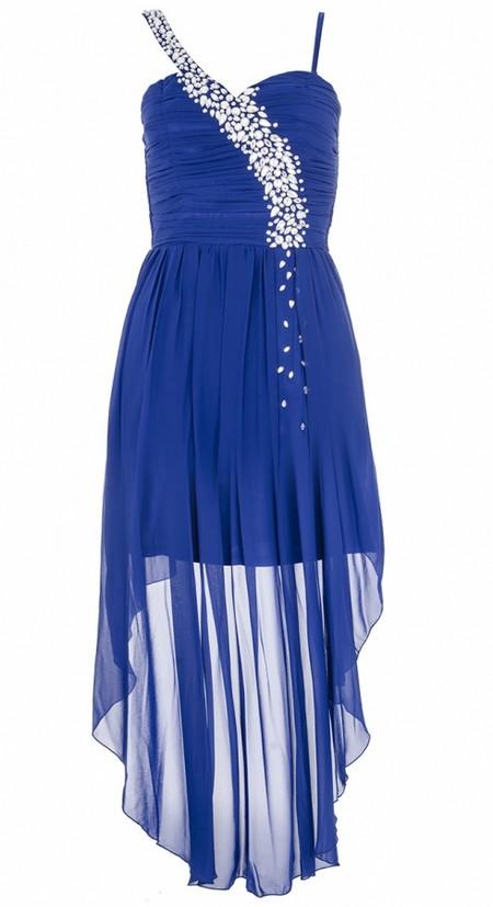 Királykék pántos alkalmi ruha (Quiz) - Fashion c451aa63b9