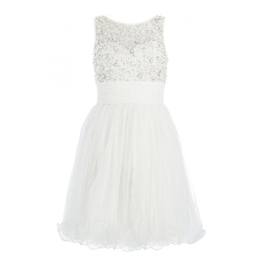 fehér koktélruha alkalmi ruha női divat Quiz a15f4e5c77