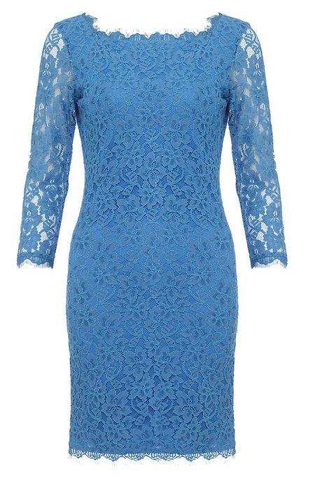 7215ee4e41 Kék, 3/4-es ujjú csipkeruha (Diane von Furstenberg) - Fashion, Style ...