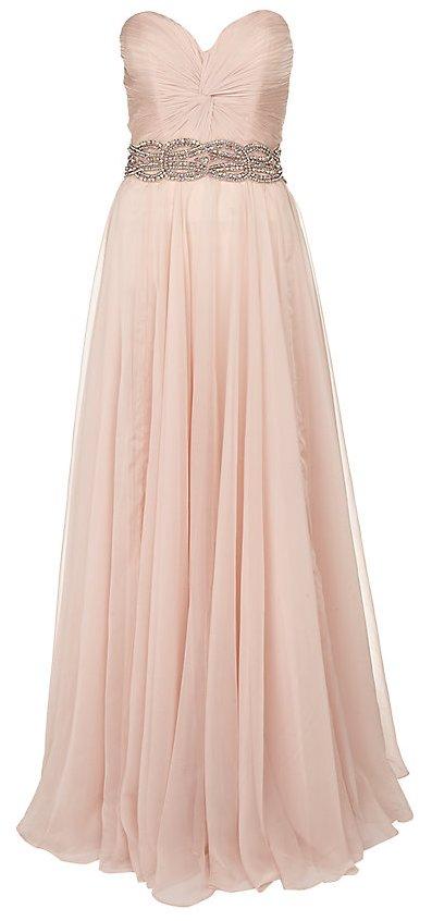 Halványrózsaszín pánt nélküli estélyi ruha (Jovani) - Fashion af44aee2dc