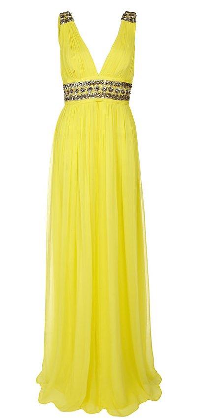 Sárga estélyi ruha (Notte by Marchesa) - Fashion 383f3f1177