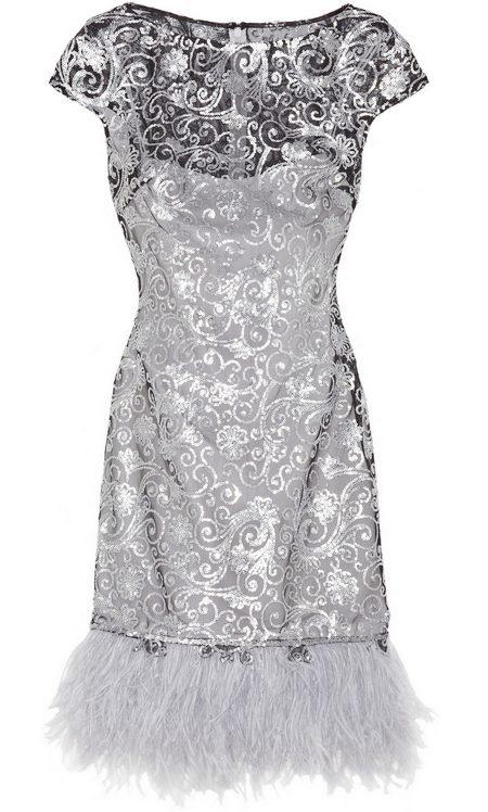 40ff1b673e Ezüstszínű mintás alkalmi ruha (Notte by Marchesa) - Fashion, Style ...