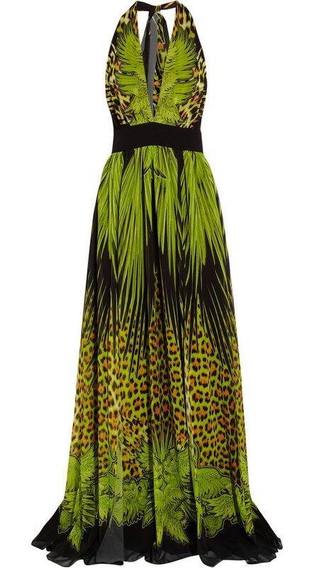 Zöld mintás estélyi ruha (Just Cavalli) - Fashion 4d444fe7ae