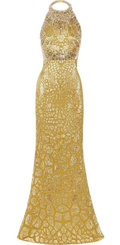 Aranyszínű estélyi ruha (Alexander McQueen) - Fashion 67163ebdd7
