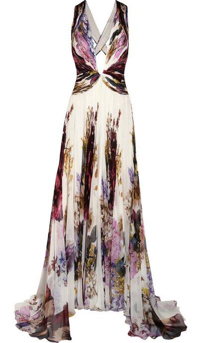 Virágos estélyi ruha (Roberto Cavalli) - Fashion ce892d0589