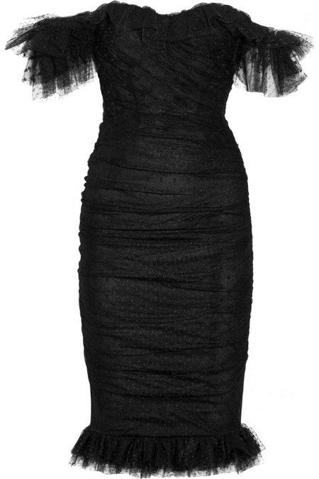 fe7ab4b4bd Fekete tüll alkalmi ruha (Dolce & Gabbana) - Fashion, Style & Beauty