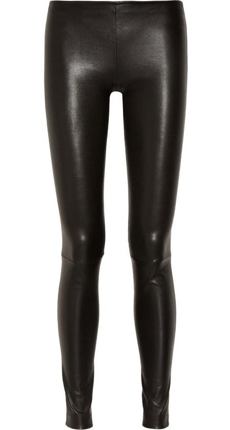 Fekete sztreccs skinny bőrnadrág (The Row) - Fashion 6be9f49ab7