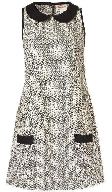 ruha fekete-fehér mintás női divat Annie Greenabelle 3290a59a7d