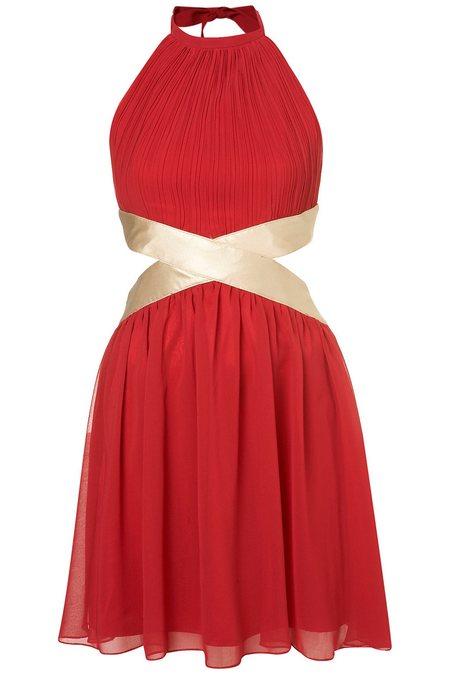 ruha piros alkalmi ruha női divat Rare 3fae51b459