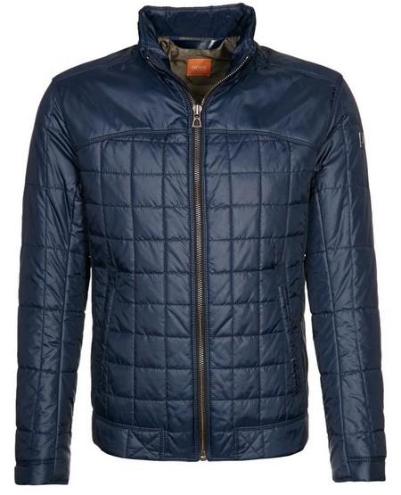 Kék steppelt férfidzseki (Boss Orange) - Fashion 840344df03