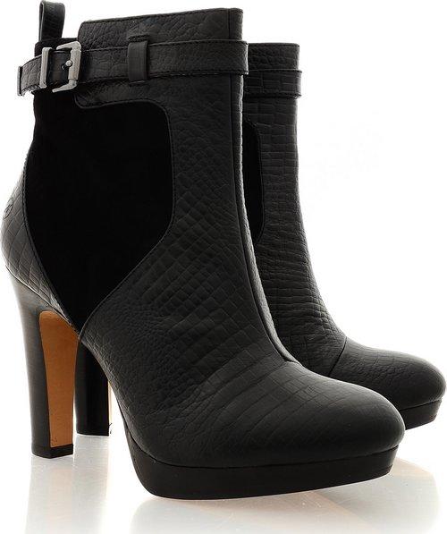 Bronx fekete bokacsizma - Fashion 05f8bee345