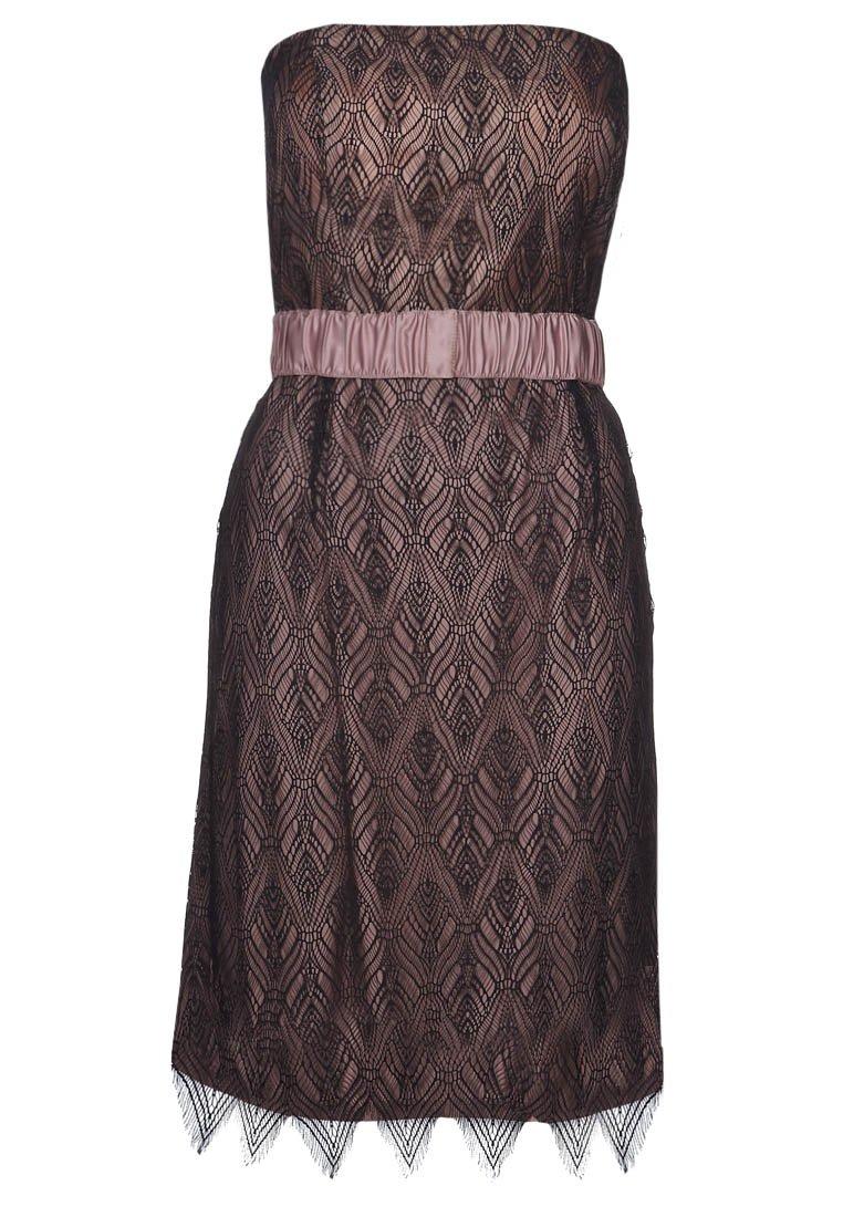 e1af5f0abc koktélruha alkalmi ruha női divat ESPRIT Collection rózsaszín-fekete