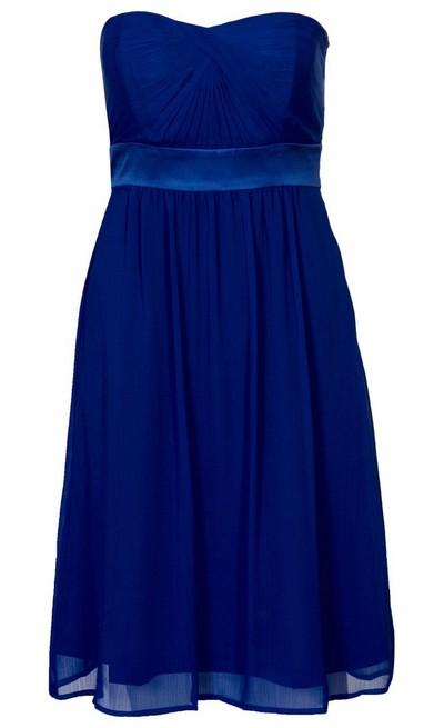 633028ce8563 Kék pánt nélküli koktélruha (ESPRIT Collection) - Fashion, Style ...