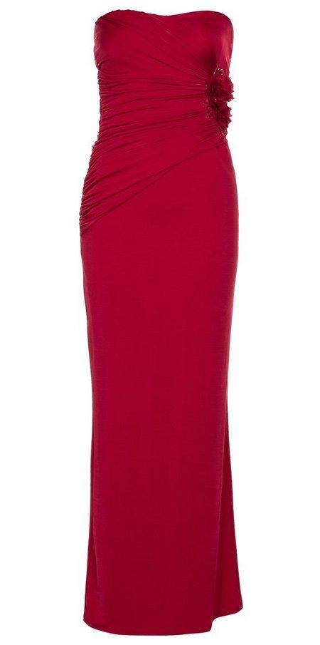 Piros pánt nélküli estélyi ruha (Lipsy) - Fashion 7530a70073