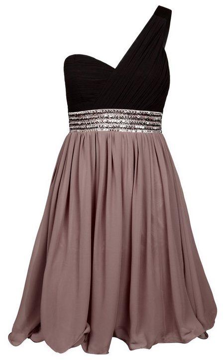 Barna-fekete aszimmetrikus koktélruha (Little Mistress) - Fashion ... 4665e7857c