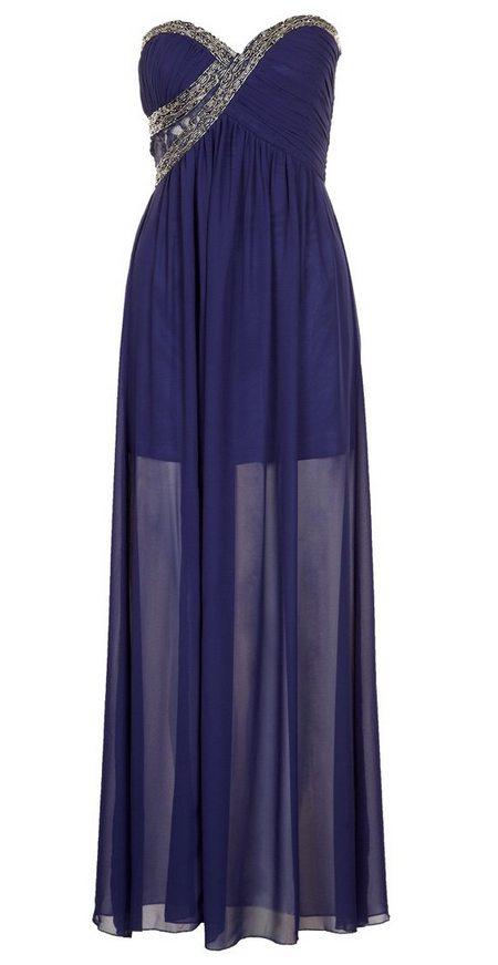 Kék pánt nélküli maxi alkalmi ruha (Little Mistress) - Fashion ... ea7d495061