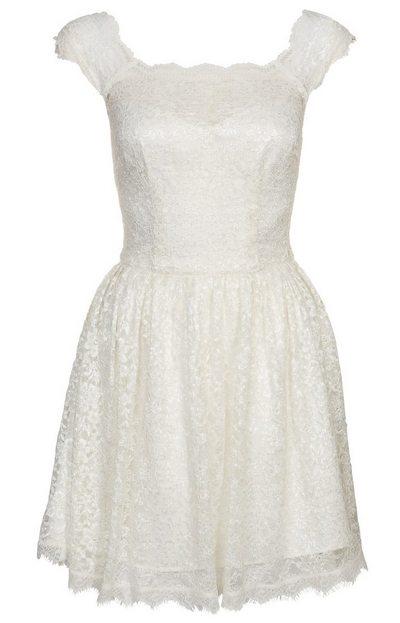 Fehér csipke koktélruha (Morgan) - Fashion 11bfd875bf