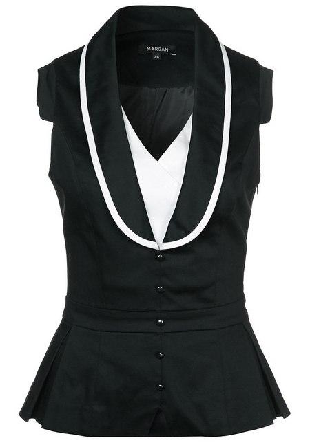 fekete-fehér női divat Morgan ing ingblúz 03ba5e9ef9