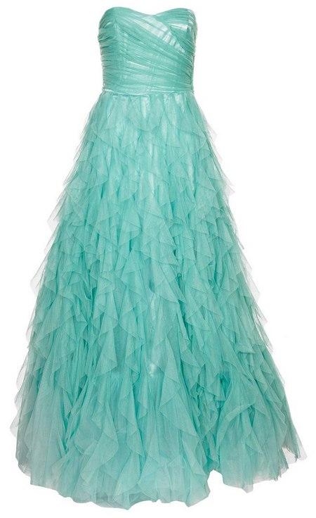 Türkiz pánt nélküli estélyi ruha (NAF NAF) - Fashion 8d2b8a7a55