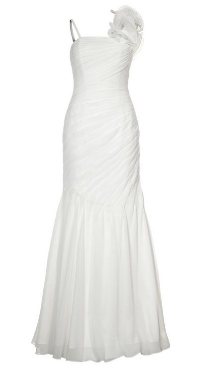 Fehér pántos alkalmi ruha (Swing) - Fashion 157e7a3ec4