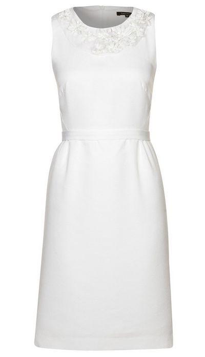 Fehér ujjatlan koktélruha (Tara Jarmon) - Fashion 419e6f1082