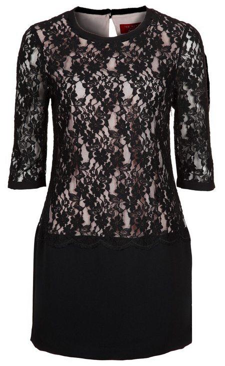 d4fa971ef8 ruha fekete csipke koktélruha alkalmi ruha női divat Ted Baker