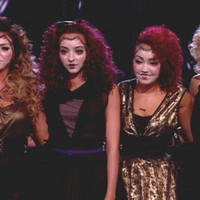 Újdonsült sztárok ragyogása - Az angol X Factor nyerteseinek színpadi sminkjei