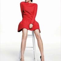 Victoria Beckham – Elle US 2012 január