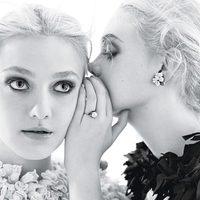 Dakota és Elle Fanning a W magazin címlapján
