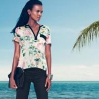 Liya Kebede a H&M-nél