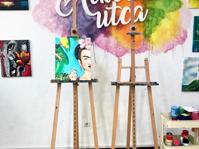 Így lett saját Frida festményem - Alkotásutca
