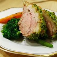Lamb provençale - zöldfűszeres bundában sült bárány