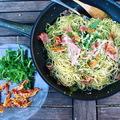 Liguria, part 2 - Spaghetti alle pesto