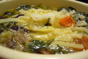 A hamis minestrone